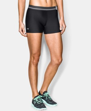 Women's UA HeatGear® Armour Shorty LIMITED TIME: FREE U.S. SHIPPING 5 Colors $14.24 to $18.99
