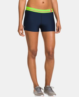 Women's UA HeatGear® Armour Shorty  5 Colors $14.24 to $18.99
