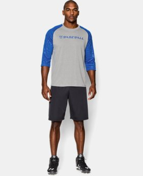 Men's UA CTG ¾ Sleeve T-Shirt