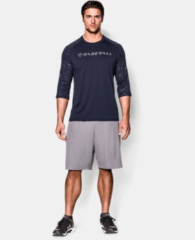 Men's UA CTG ¾ Sleeve T-Shirt LIMITED TIME: FREE U.S. SHIPPING 1 Color $20.99 to $25.99