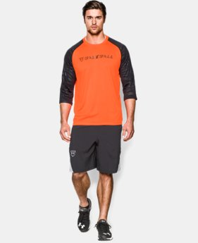 Men's UA CTG ¾ Sleeve T-Shirt  1 Color $25.99