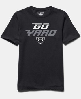 Boys' UA Baseball Go Yard T-Shirt