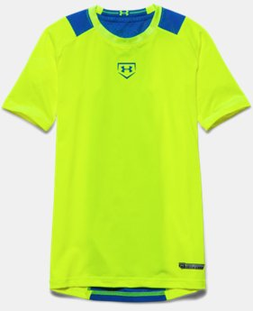 Boys' UA Undeniable Baseball Short Sleeve Shirt