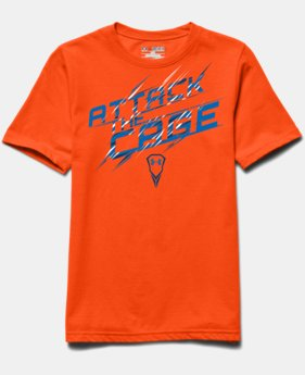 Boys' UA Attack The Cage T-Shirt