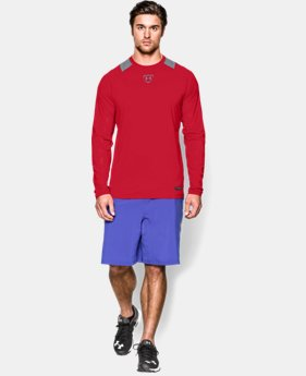 Men's UA Undeniable Baseball Long Sleeve Shirt  1 Color $35.99