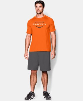 Men's UA Baseball Wordmark T-Shirt  1 Color $15.74
