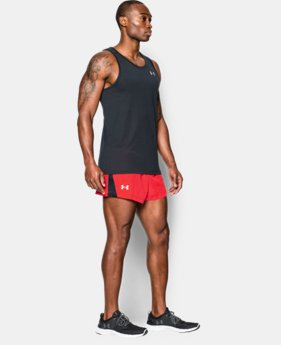 Men's UA Launch Split Run Shorts EXTRA 25% OFF ALREADY INCLUDED  $17.24