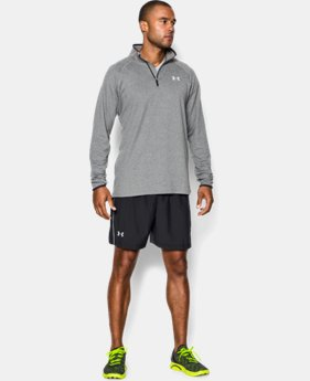 "New Arrival  Men's UA Launch Run Woven 5"" Shorts LIMITED TIME: FREE SHIPPING 1 Color $37.99"