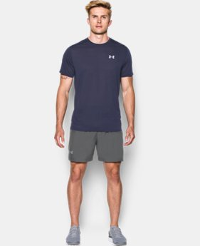 "Men's UA Launch Run Woven 5"" Shorts LIMITED TIME: FREE SHIPPING 2 Colors $32.99"