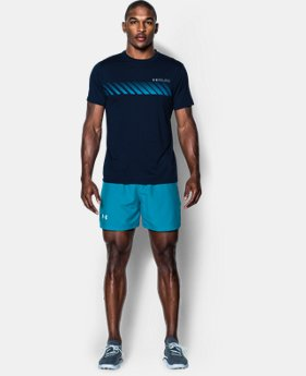 "Men's UA Launch Run Woven 5"" Shorts LIMITED TIME: FREE U.S. SHIPPING 1 Color $18.74 to $24.99"