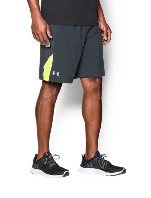 Under Armour UA MEN/'S SZ Large Loose Athletic Training Shorts Blue 1291322 409