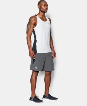 "Men's UA Launch Stretch Woven 9"" Run Shorts LIMITED TIME: FREE SHIPPING 1 Color $37.99 to $49.99"