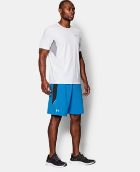 "Men's UA Launch Stretch Woven 9"" Run Shorts   $33.99"