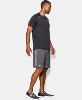 "Men's UA Launch 9"" Linerless Run Shorts"