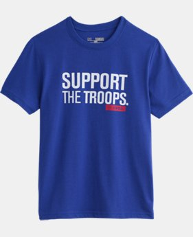 Boys' UA Freedom Support T-Shirt