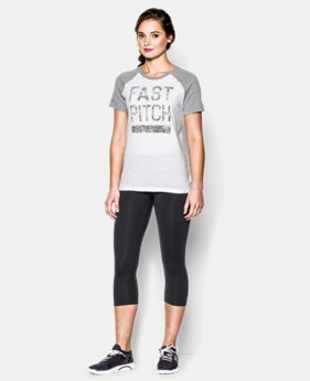 Women's UA Softball Fast Pitch T-Shirt