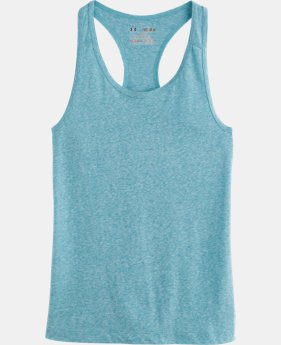 Girls' UA Charged Cotton® Tri-Blend Tank