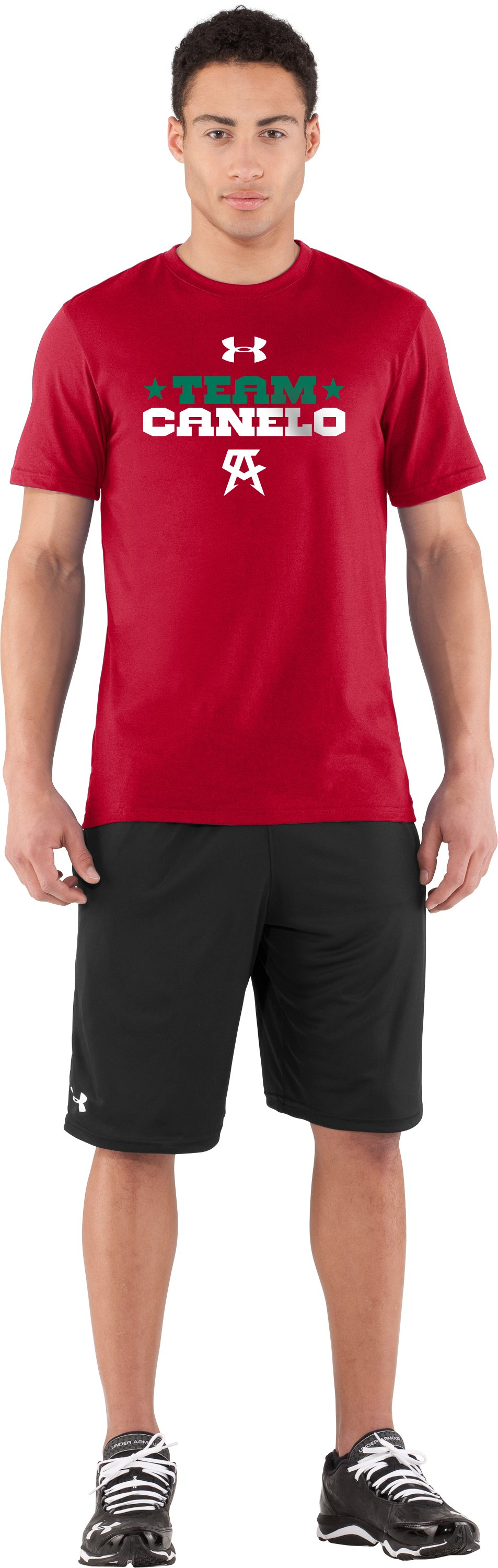 Men's UA Team Canelo T-Shirt, Red, Front