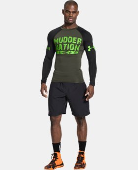 Men's UA Tough Mudder Graphic Compression Long Sleeve EXTRA 25% OFF ALREADY INCLUDED 1 Color $33.74