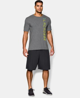 Men's UA Lacrosse Wordmark T-Shirt LIMITED TIME: FREE U.S. SHIPPING 1 Color $20.99