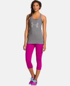 Women's UA Big Logo Tri-Blend Tank