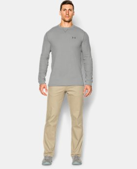 Men's UA Amplify Thermal Crew  6 Colors $23.99 to $39.99