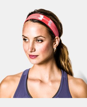 Women's UA HeatGear® Armour Headband  1 Color $6.74