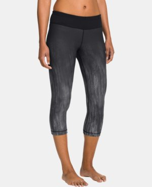 "Women's UA StudioLux® Quattro Printed 20"" Capri LIMITED TIME: FREE U.S. SHIPPING 1 Color $41.99"