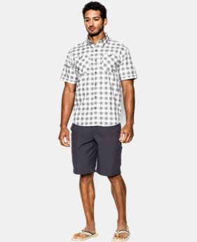 Men's UA Chesapeake Patterned Short Sleeve Shirt  1 Color $31.49 to $39.74