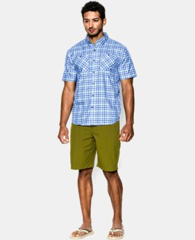 Men's UA Chesapeake Plaid Short Sleeve Shirt  1 Color $59.99
