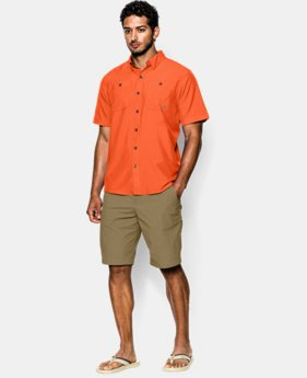 Men's UA Chesapeake Short Sleeve Shirt  1 Color $33.74