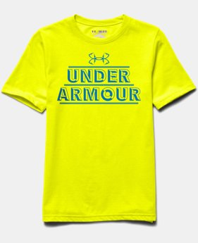 Boys' UA Iso-Chill Element Short Sleeve Shirt