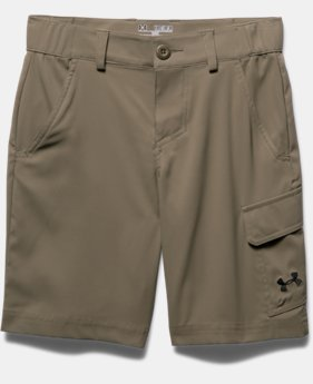 Boys' UA Shark Bait Cargo Shorts