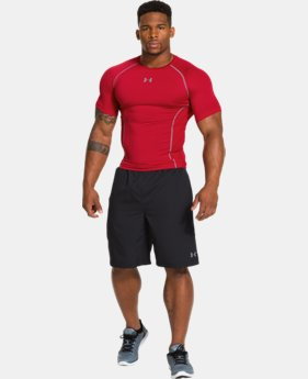 Men's UA HeatGear® Sonic ArmourVent™ Compression T-Shirt