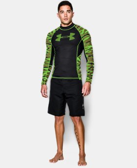 Men's UA Ex-Helios Rashguard LIMITED TIME: FREE U.S. SHIPPING 1 Color $44.99