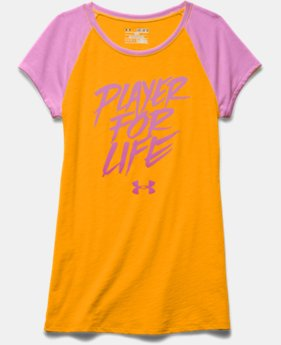 Girls' UA Player For Life Raglan