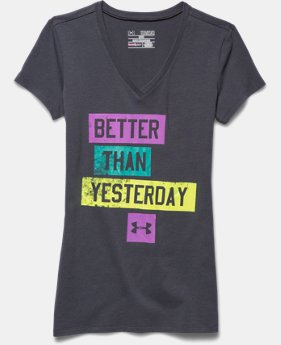 Girls' UA Better V-Neck