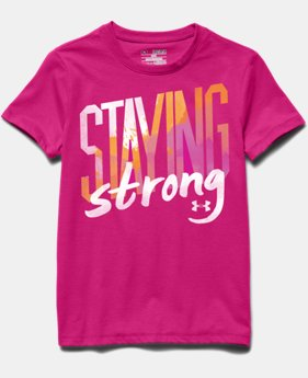 Girls' UA Staying Strong T-Shirt