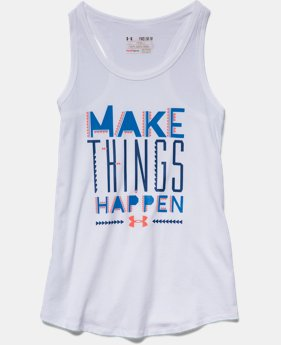 Girls' UA Make Things Happen Tank