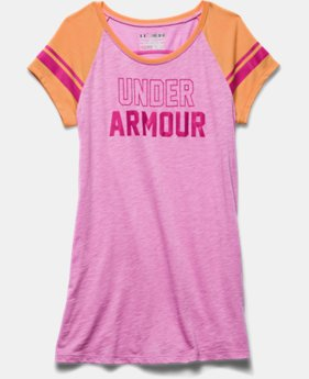 Girls' UA Big Logo Branded Raglan
