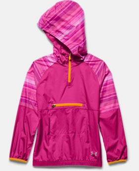 Girls' UA Popover Rain Shell