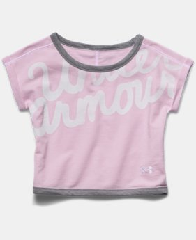 Girls' UA Cozy Crew Short Sleeve
