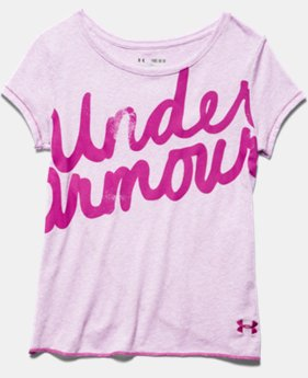 Girls' UA Layer T-Shirt