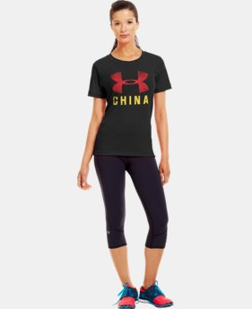 Women's China Pride Graphic T-Shirt