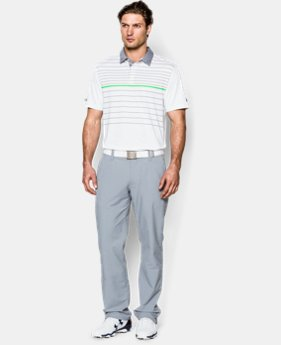 Men's UA coldblack® Hammer Stripe Polo  1 Color $44.99
