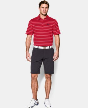 Men's UA coldblack® Par Stripe Polo LIMITED TIME: FREE U.S. SHIPPING 1 Color $51.99