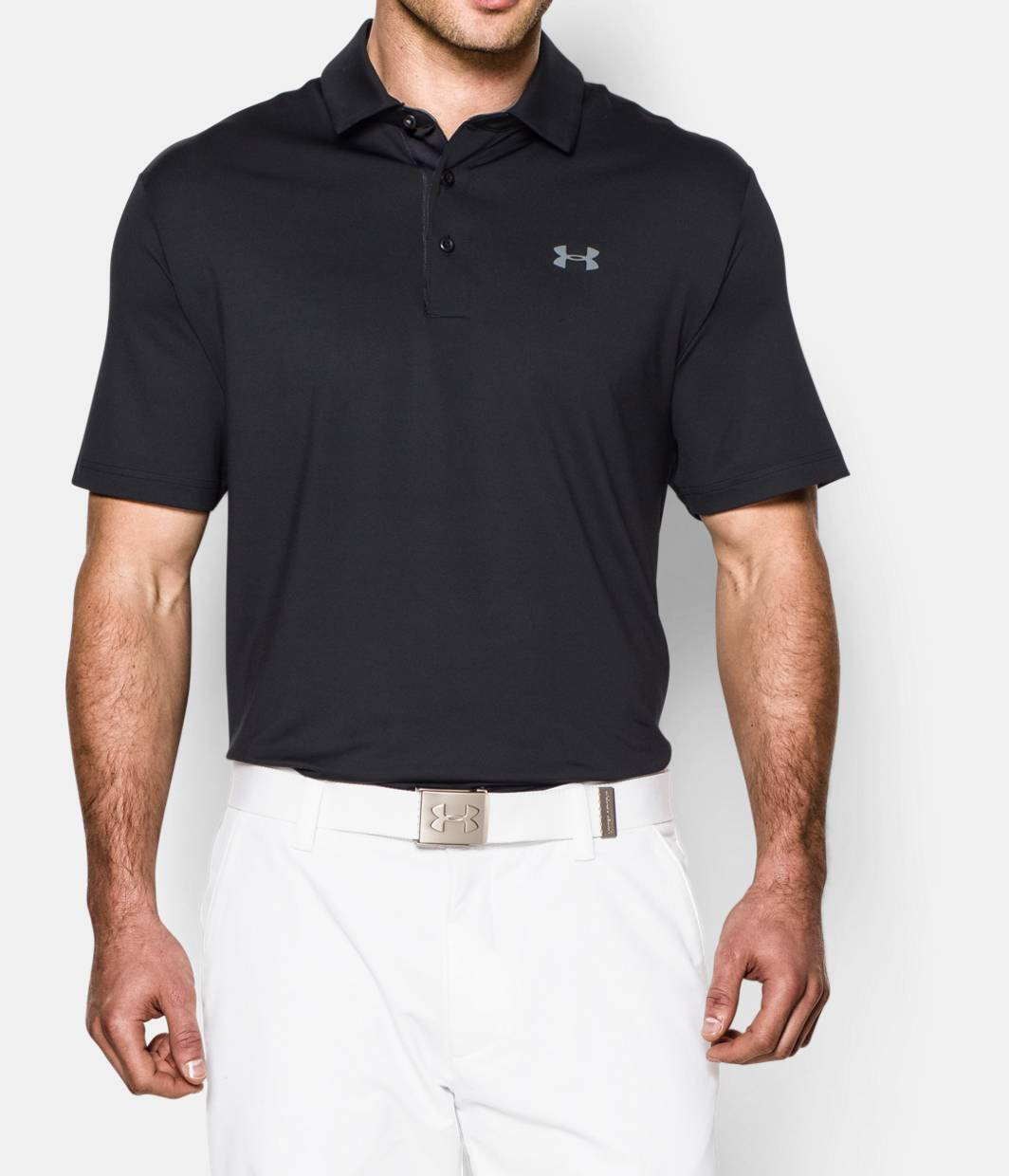Men 39 s ua playoff polo under armour ca for Mens sweater collared shirt