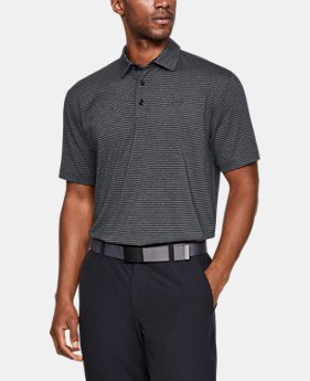 Best Seller Men's UA Playoff Polo FREE U.S. SHIPPING 2  Colors Available $64.99