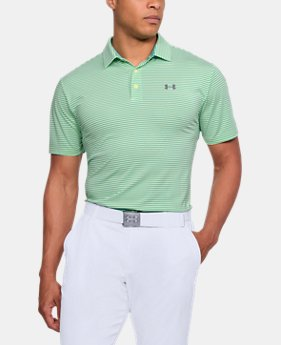 Best Seller Men's UA Playoff Polo  10 Colors $64.99