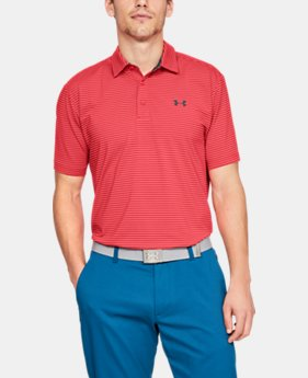 Men's UA Playoff Polo  7  Colors Available $38.99 to $48.74